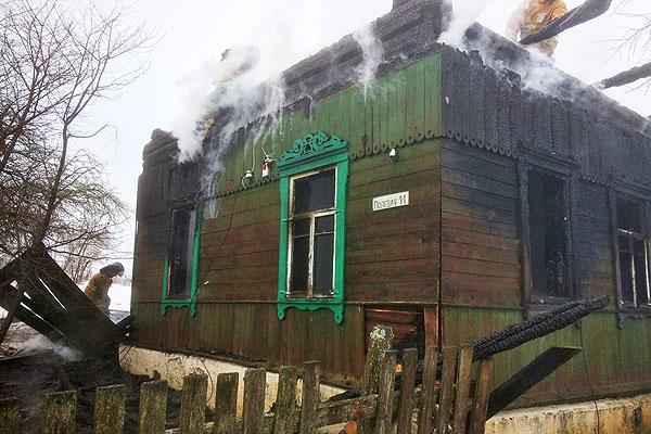 В Толочинском районе в результате пожара погибли мужчина и женщина