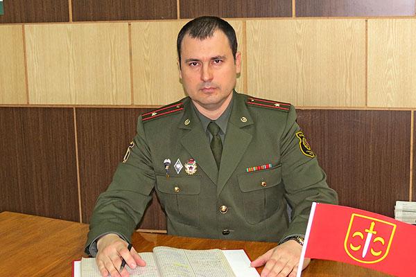 Дмитрий Конюшко: в службе вижу цель и смысл своей жизни