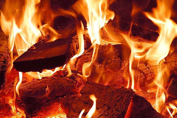 В Толочине огнем поврежден гараж
