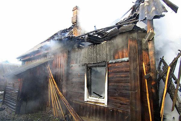 На пожаре в Толочинской районе погибла пожилая женщина