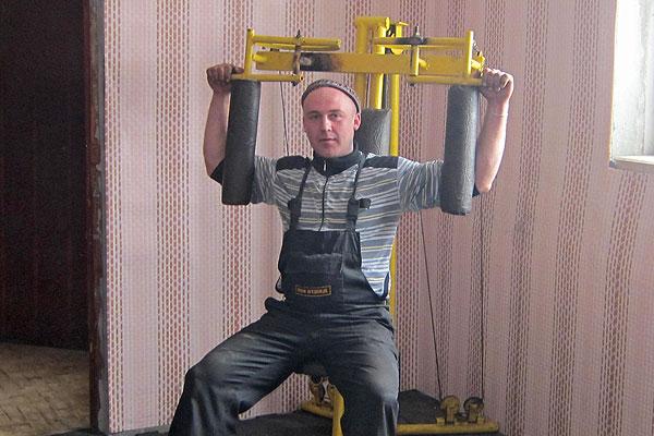 В Толочинском райагросервисе оборудовали тренажерный зал