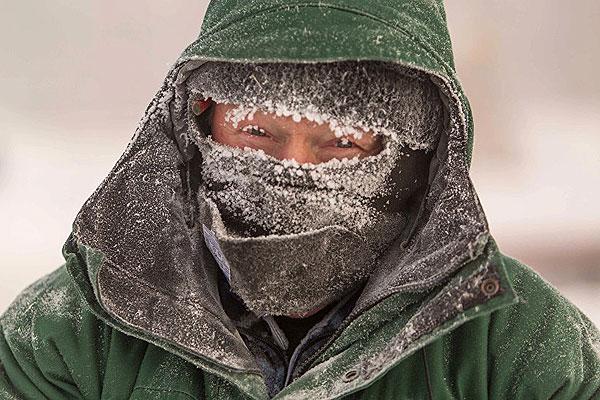 Осторожно: мороз!