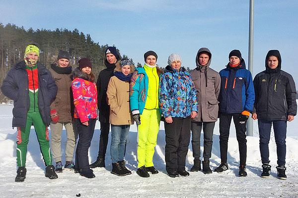 Кохановские лыжники победили на областных сельских играх