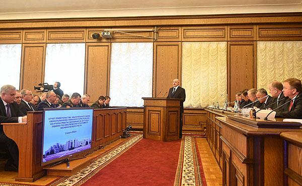 Тема недели: отчет правительства о социально-экономическом развитии Беларуси
