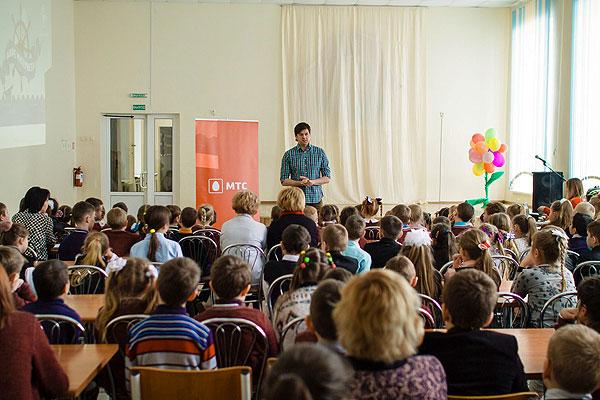 «Дети в интернете»: Георгий Колдун провел открытый урок для школьников Свислочи