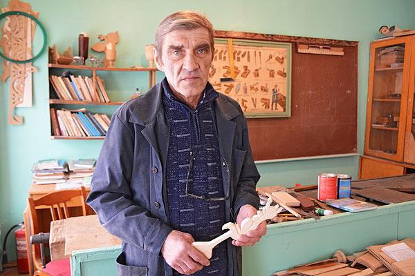 Оболецкого учителя Андрея Горбикова позвали родные места, родная школа