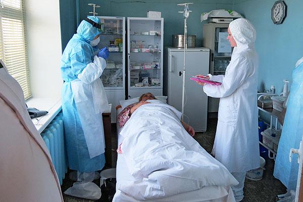 Без права на ошибку: толочинские медики в ходе учений ликвидировали возможный очаг холеры
