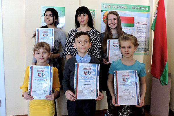 Толочинские школьники стали призерами международного конкурса молодых исполнителей эстрадной песни