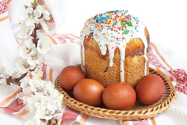 Расписание пасхальных богослужений и освящения куличей, яиц в храмах  и населенных пунктах Толочинского района