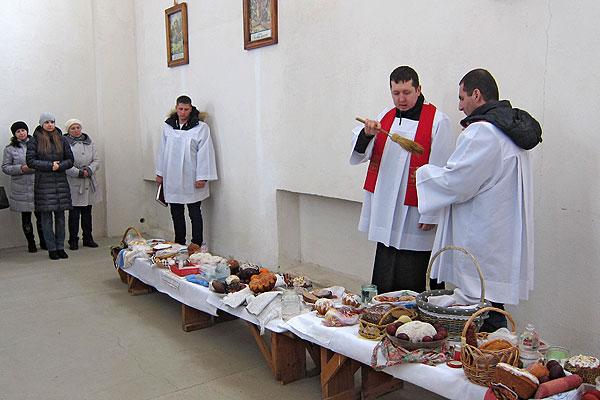 У Талачыне каталікі сустрэлі свята святаў