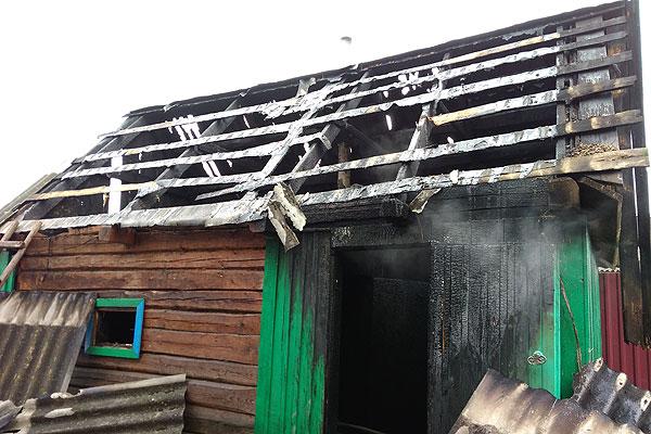Два пожара в один день произошли в Толочинском районе