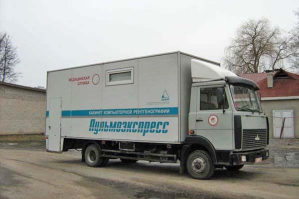 """В Толочинский район прибывает """"Пульмоэкспресс"""""""