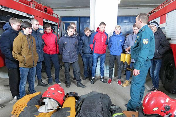 Кохановские лицеисты познакомились с работой спасателей