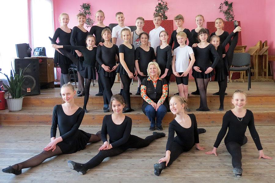 Успех юных танцоров зависит от таланта и трудолюбия