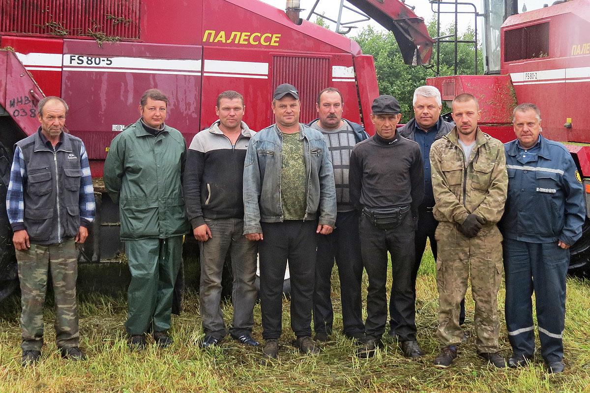 Зеленая жатва: в Толочинском райагросервисе свое берут организацией труда