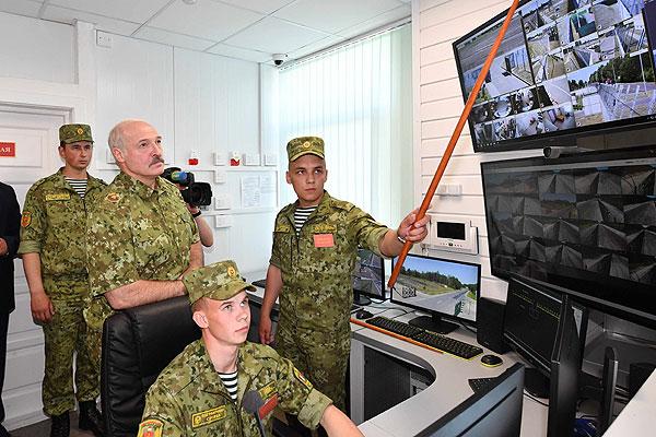 Тема недели: Лукашенко ознакомился с обеспечением погранбезопасности Беларуси