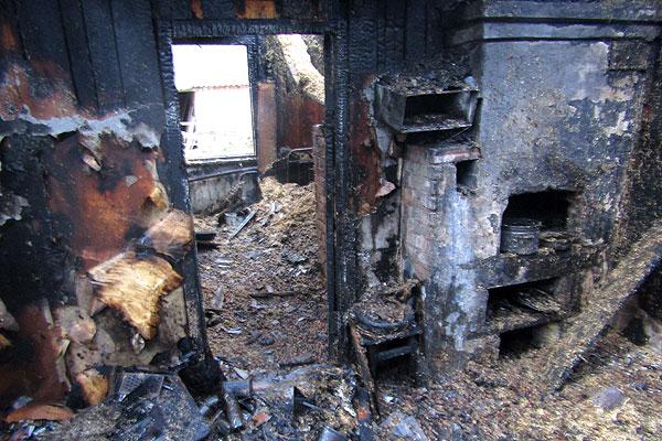 Очередная жертва огня: на пожаре в Низком Городце погиб мужчина
