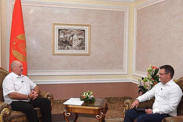 Тема недели: интервью Лукашенко телеканалу «Беларусь 1»