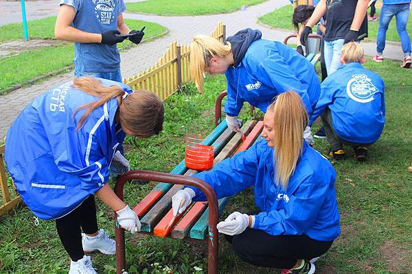 Толочинская районная организация БРСМ призывает молодежь к благоустройству