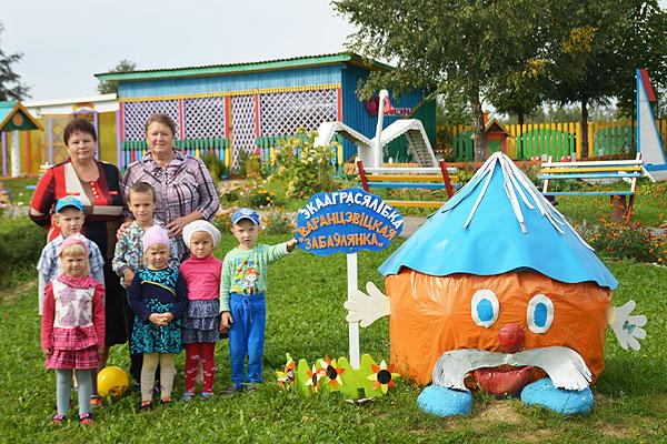 В Воронцевичском детском саду через игру приучаются к труду