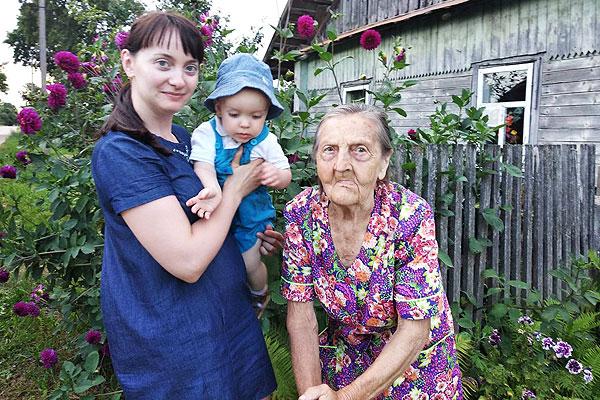 Сохранить молодой задор Марии Малашкевич из Заболотья помогли школа и ее ученики