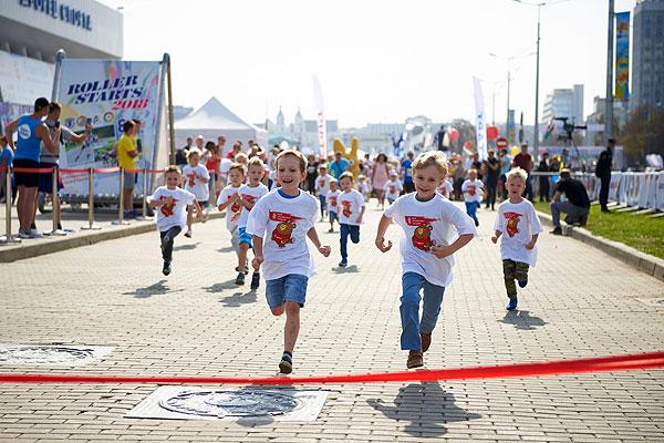 Малыши, на старт! Более 600 детей приняли участие в благотворительных забегах МТС и ЮНИСЕФ