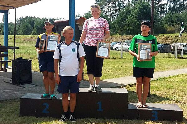 Толочинский охотовед Татьяна Батурина заняла третье место в республиканских соревнованиях по стрельбе