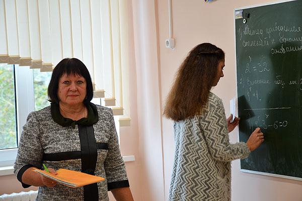 Толочинский педагог Раиса Ермакова математику полюбила с детства