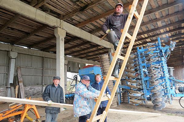 В Друцке без участия строителей не обходится ни один производственный участок