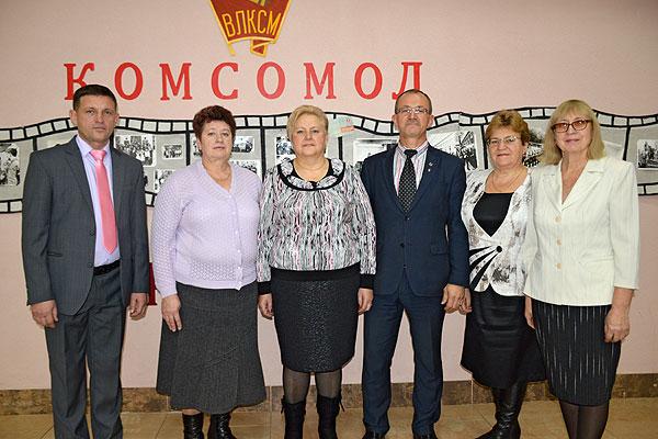 Знаменательная дата: в Толочине отметили 100-летие ВЛКСМ