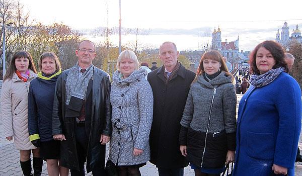 Комсомольская юность живая: делегация Толочинского района посетила Витебск, где приняла участие в праздновании 100-летия со дня образования ВЛКСМ