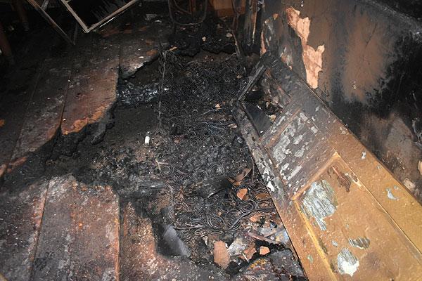 В Толочинском районе огонь унес еще одну человеческую жизнь