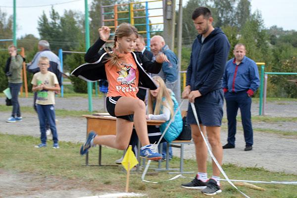 В Толочине соревновались легкоатлеты-школьники