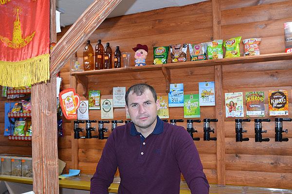 В Толочине появился магазин для ценителей разливных напитков