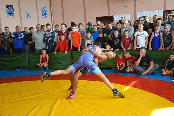 Толочинские борцы на первенстве Витебской области завоевали пять медалей