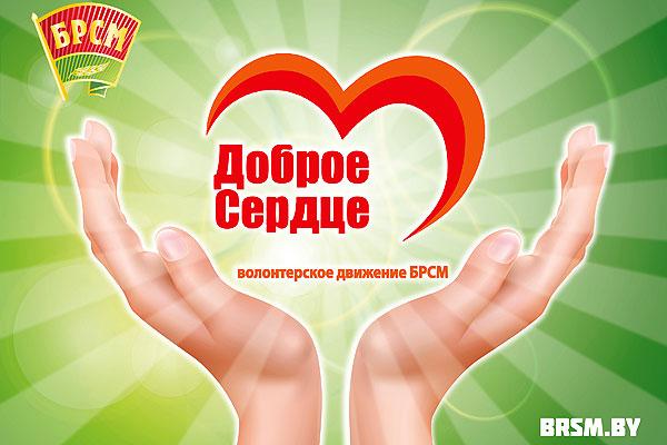 В Толочине пожилые люди могут обратиться за помощью к участникам волонтерского движения БРСМ