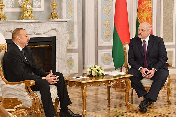Тема недели: Лукашенко и Алиев заявили о переходе отношений Беларуси и Азербайджана на качественно новый уровень