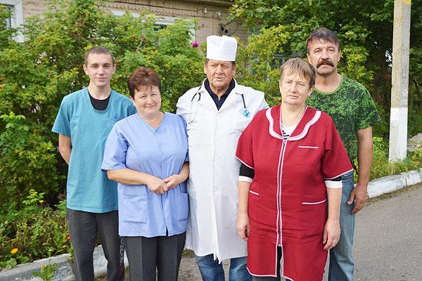 У Варанцэвіцкую сельскую амбулаторыю за медыцынскай дапамогай звяртаюцца людзі з розных куткоў Талачынскага раёна
