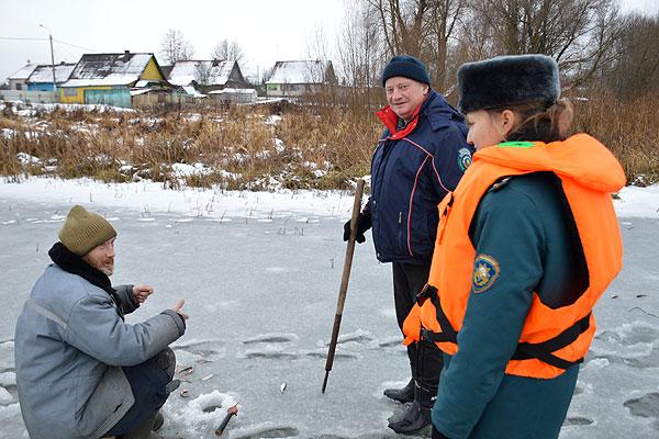 Первый лед таит опасность