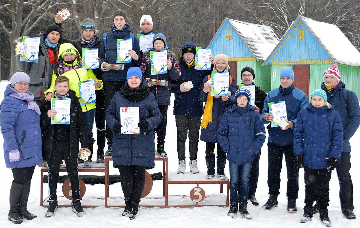 В Толочине биатлонисты открыли программу районной спартакиады среди профсоюзов (+фото)