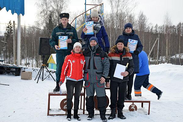 В командном зачете первенства Толочинского района победили лыжники райисполкома (+фото)