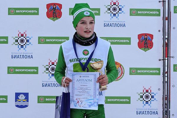 Толочинский биатлонист Даниил Макионок стал призером Кубка БФБ
