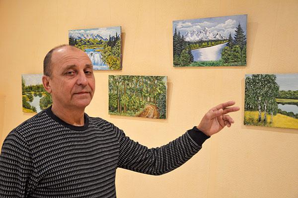 Житель Толочина Виктор Побяржин о своем даровании не предполагал и сам