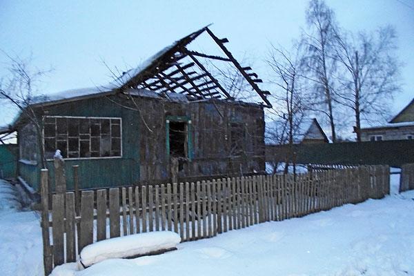 В Серковицах в пожаре погиб мужчина