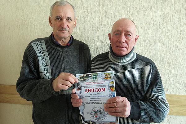 Толочинские рыболовы стали призерами областных соревнований