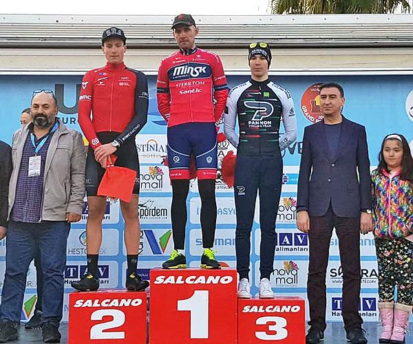 Толочинец Бронислав Самойлов стал победителем велогонки в Турции