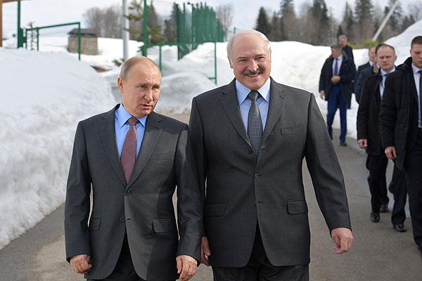 Тема недели: рабочий визит Президента Беларуси в Россию