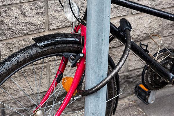 Примите меры к сохранности своего велосипеда