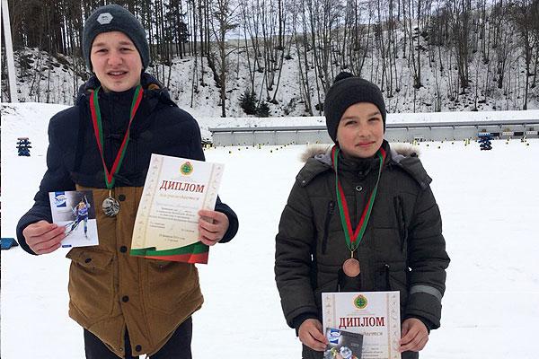 Толочинские биатлонисты в числе призеров областных и республиканских соревнований