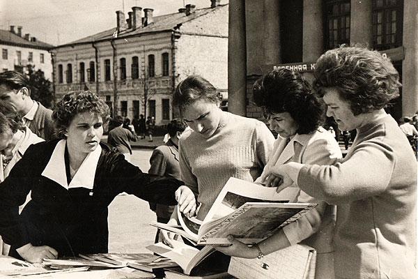 С легкой руки продавца Людмилы Король книга в Толочинском районе пользовалась необыкновенной популярностью и спросом